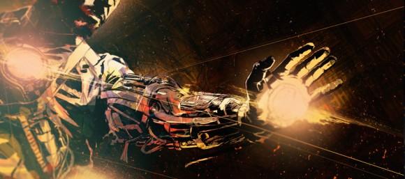 Iron Man 3 unused opening title credits 12