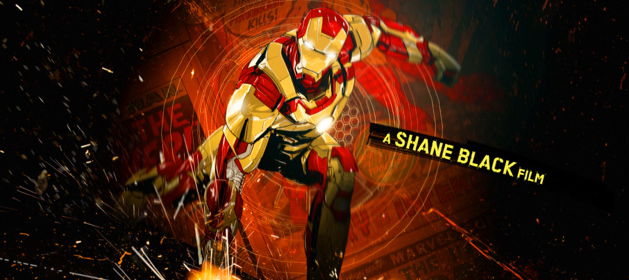 Iron Man 3 unused opening title credits 15