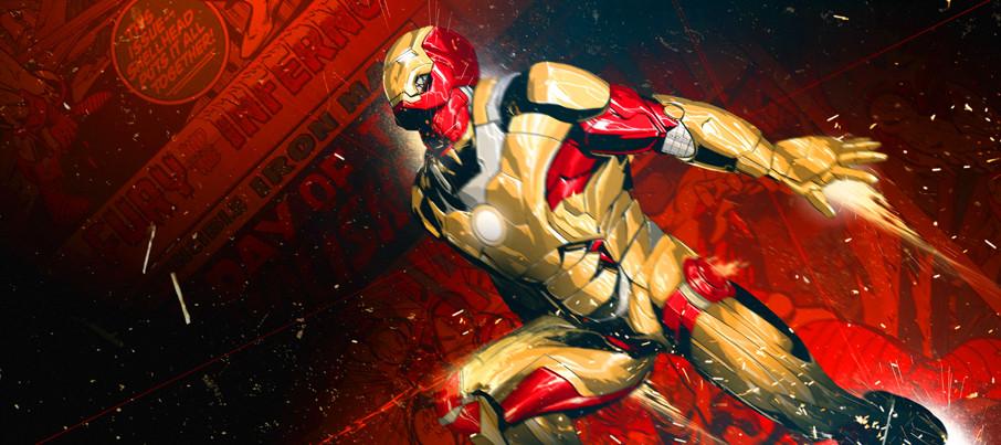 Iron Man 3 unused opening title credits 6