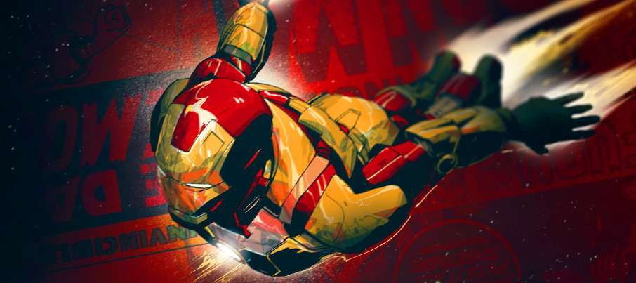 Iron Man 3 unused opening title credits 7