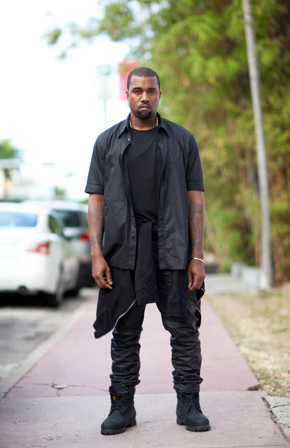 Kanye West in Layers, Style Fashion
