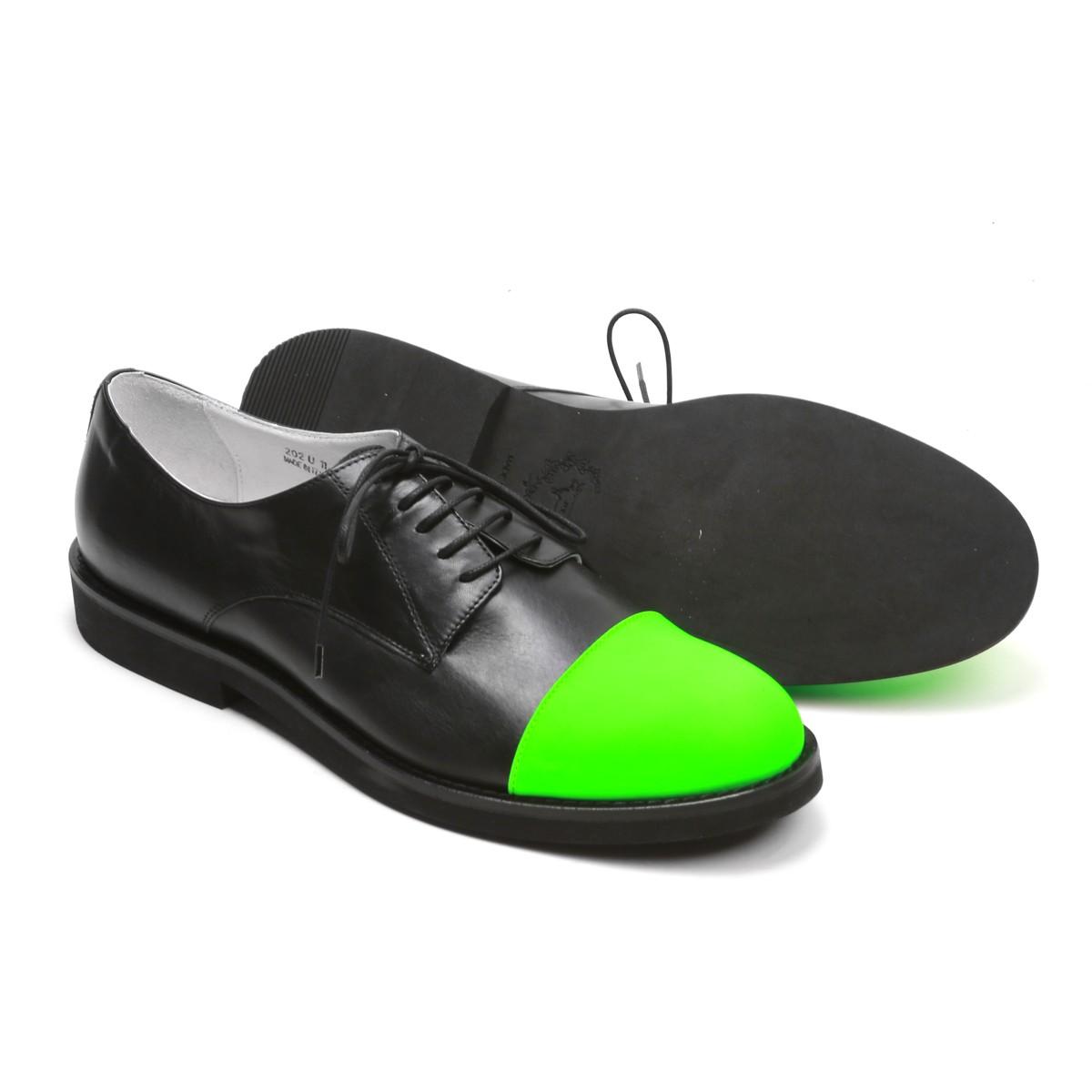 Kermit Green Cap Toe Shoes Soletopia