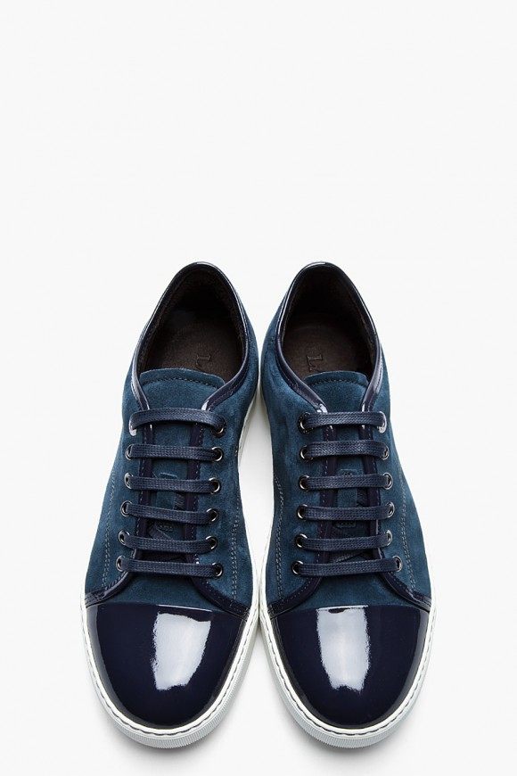 LANVIN Cap Toe Tennis Sneakers Collection 1