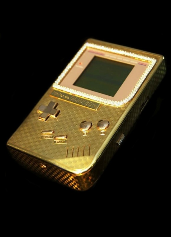 Most Expensive Gameboy 18k Gold & Diamonds