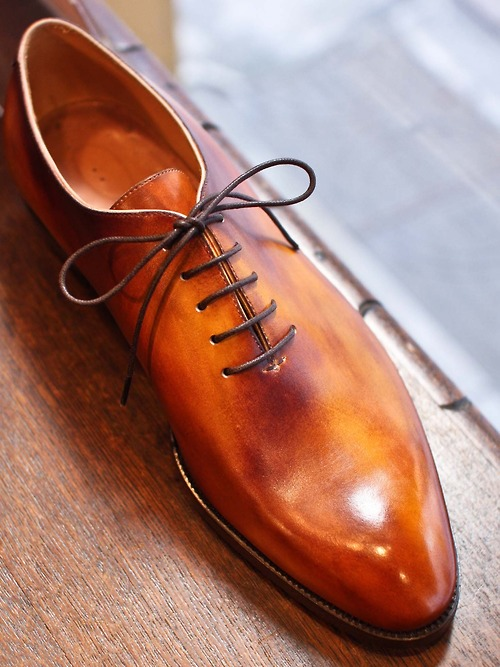 Nobuaki Fujisawa Patina Wholecut Shoes