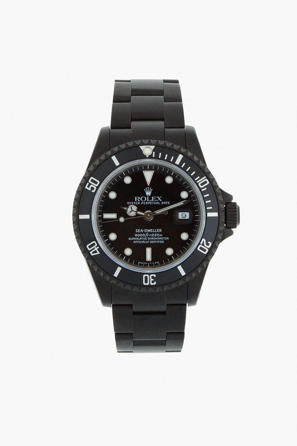 Refurbished Black Rolex Watch Limited Edition 1