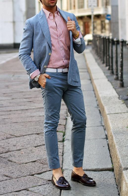 Superlative Menswear: Stripes on Stripes