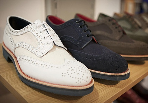 Tricker's Suede Brogues, best in business