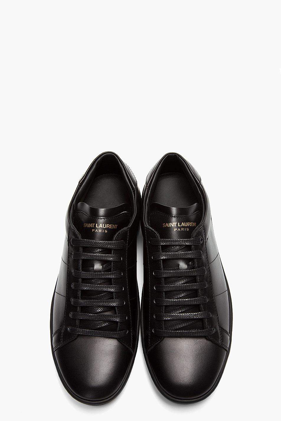 Black Classic Sneakers Saint Laurent 2