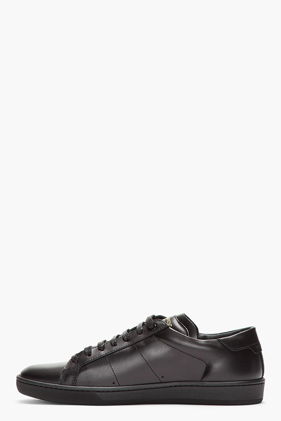 Black Classic Sneakers Saint Laurent 3