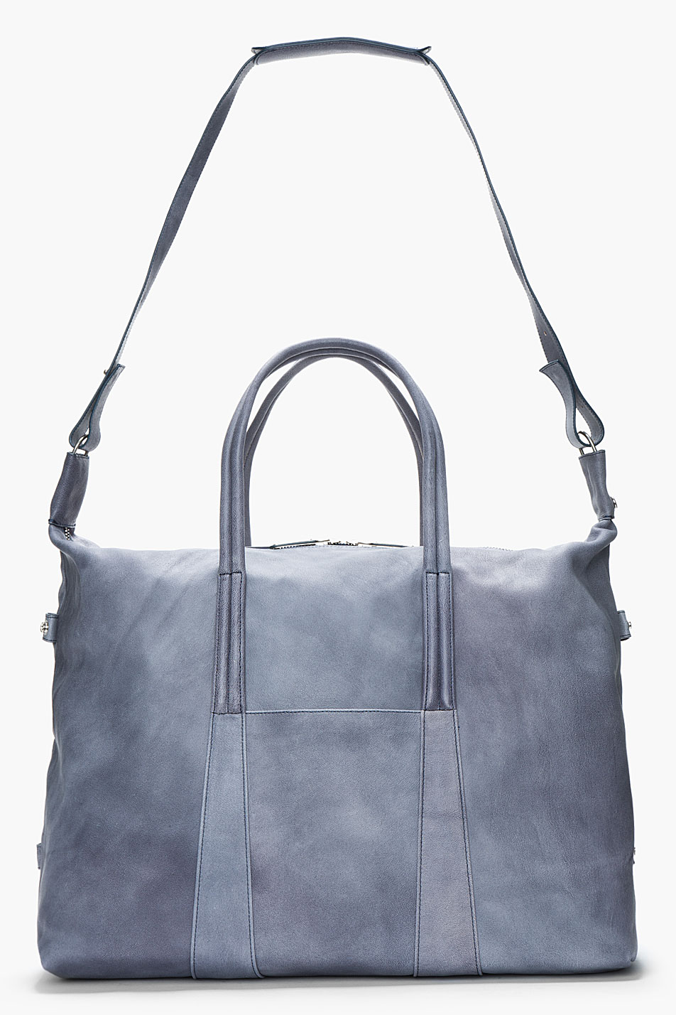 Camel Leather Duffle Slate Grey Maison Martin MArgiela 3