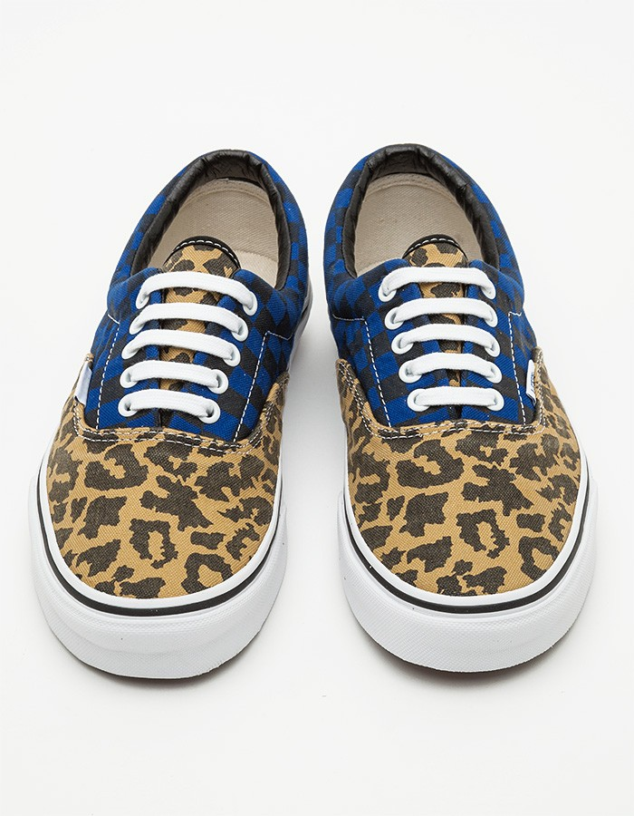 Checked Leopard Vans | SOLETOPIA