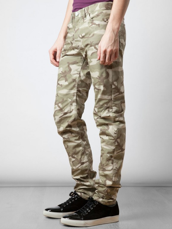 Heavyweight Cotton Camo Comme des Garcons pants