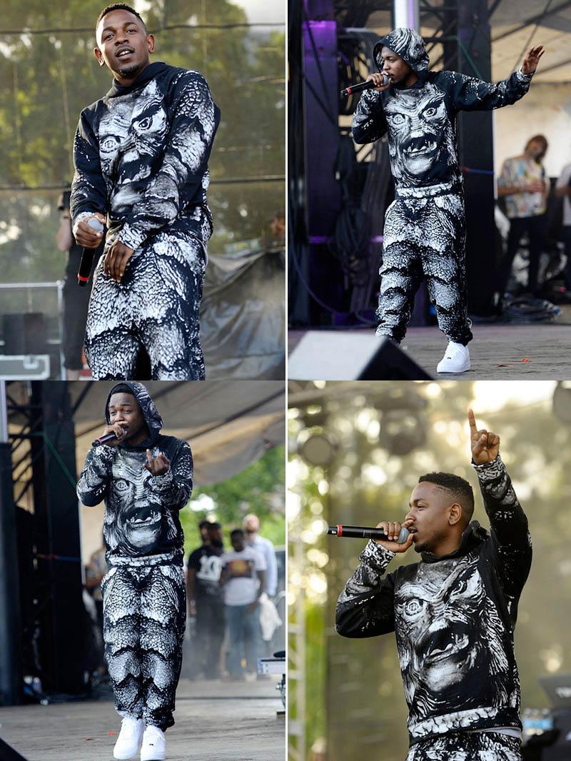 Kendrick Lamar Christopher Kane Creature & AF1