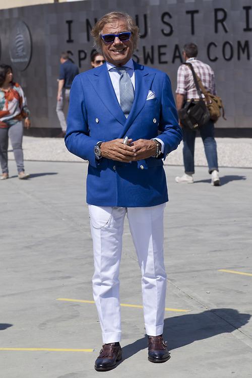 Lino Ieluzzi Blue Pimp