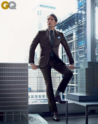 Mads Mikkelsen 'Hannibal' for GQ July 2013 2