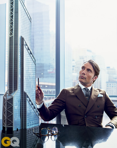 Mads Mikkelsen 'Hannibal' for GQ July 2013 3