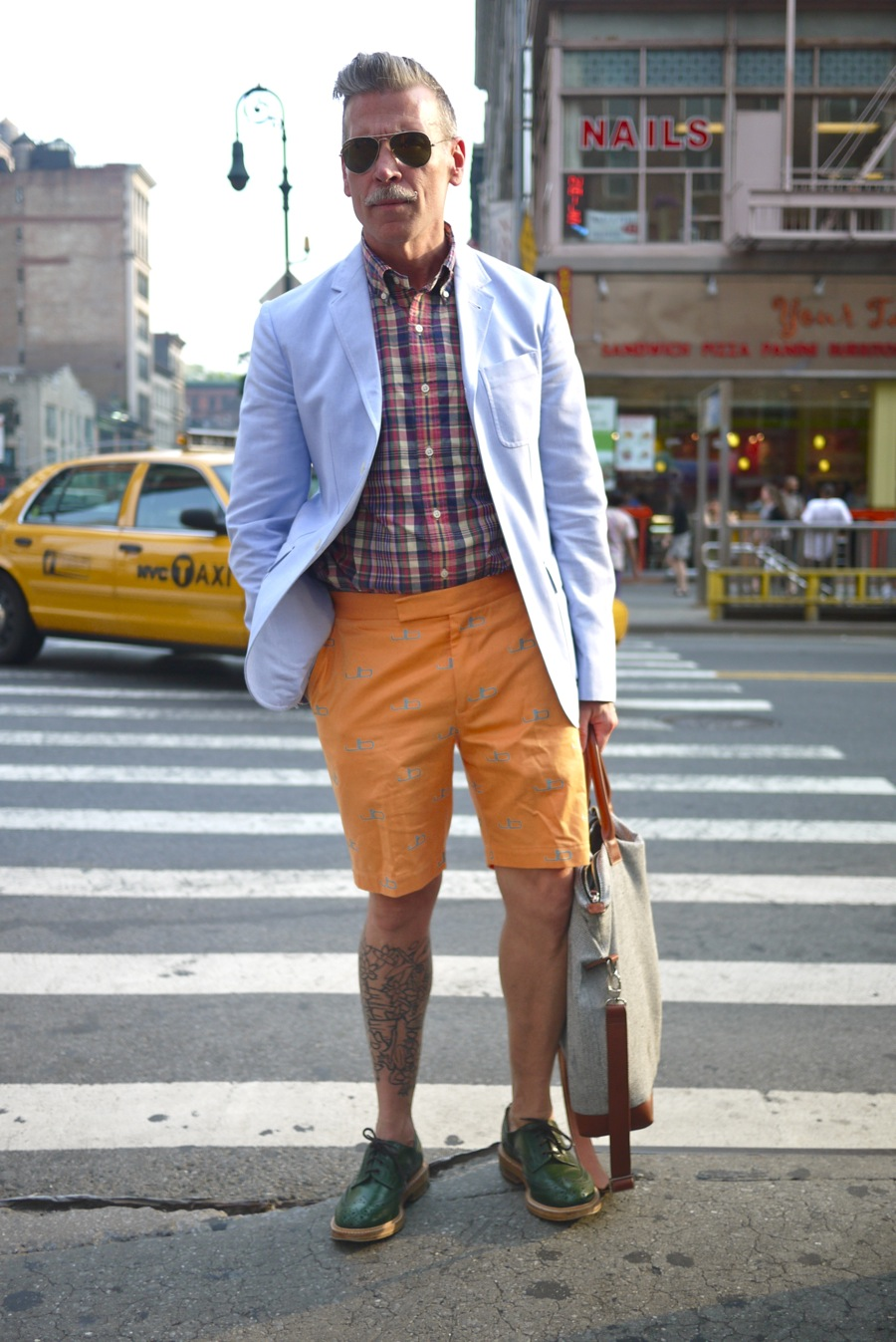 Nick Wooster Summer Style 2013