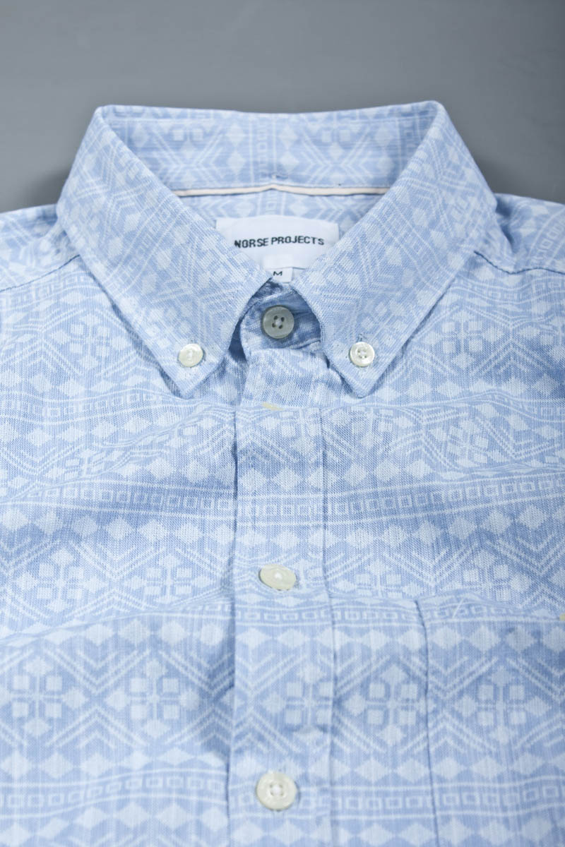 Norse Projects blue button down