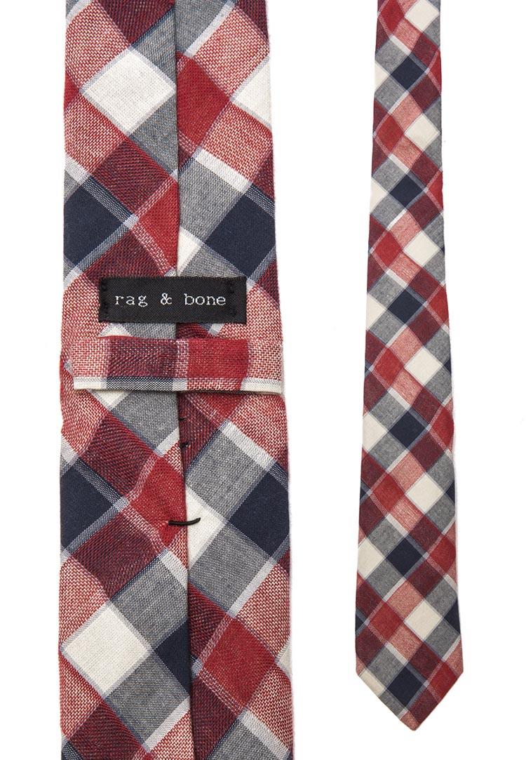 Red Farm Plaid tie rag & bone
