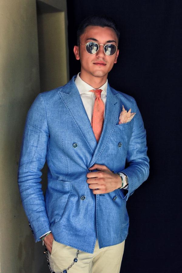 Suit Portrait Blue Steel Blazer