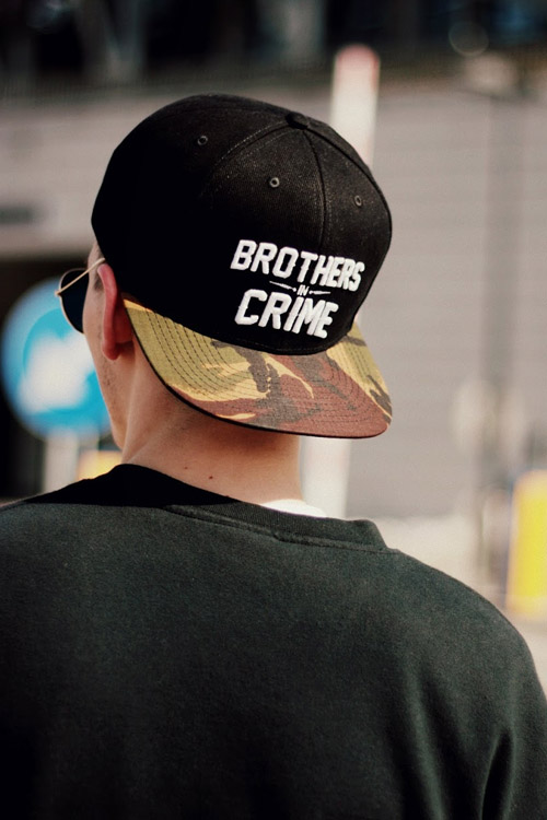 The Hive Brothers in Crime snapback