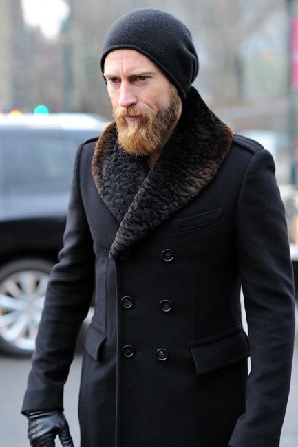 Winter Ready elegant double breasted coat