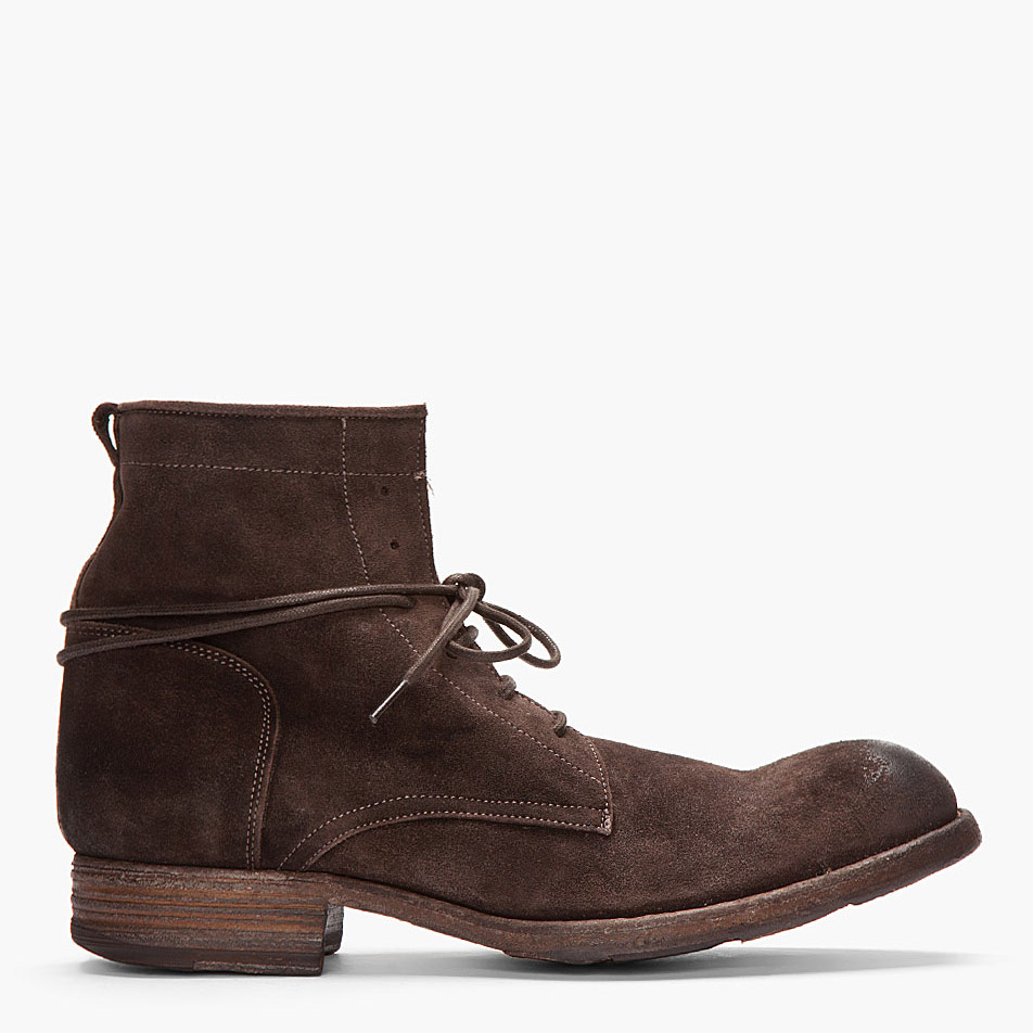 distressed suede boots soletopia