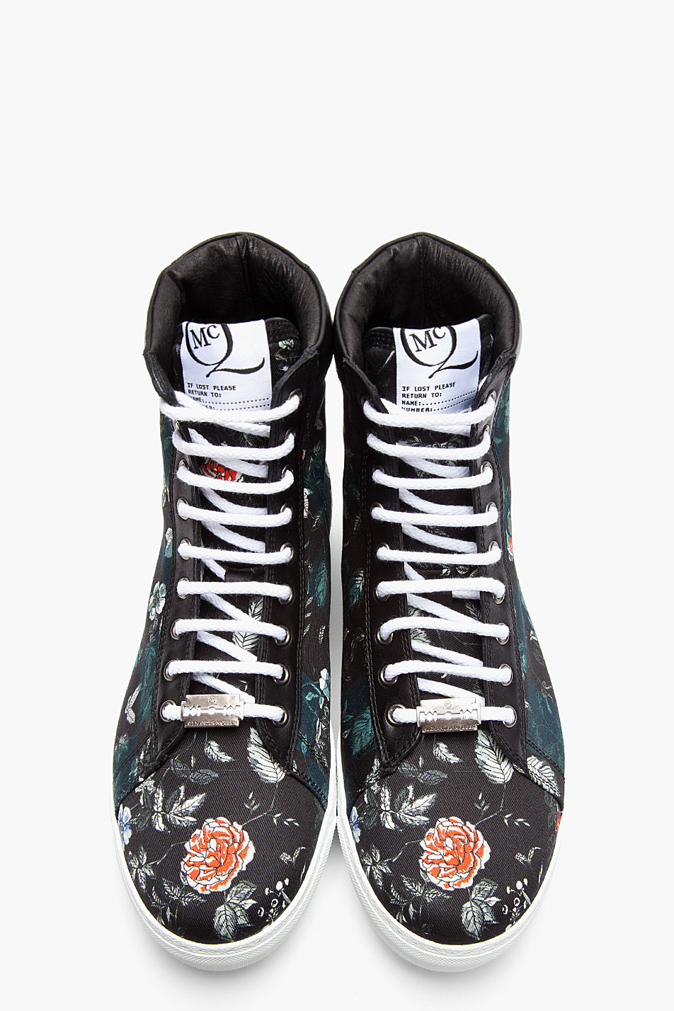 Floral Canvas Sneakers MCQ by Alexander McQueen 1