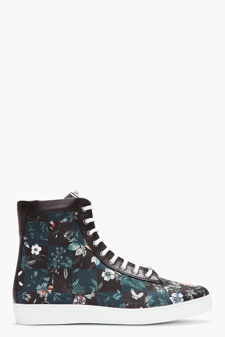 Floral Canvas Sneakers MCQ by Alexander McQueen 3