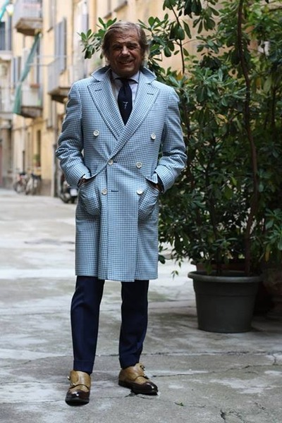 Lino Ieluzzi classic coat