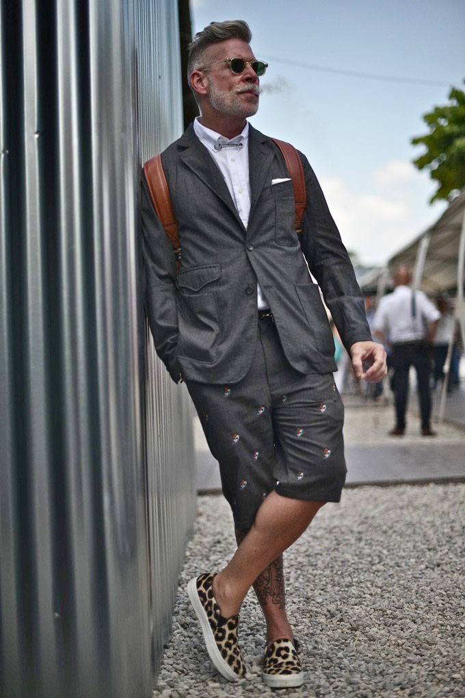 Nick wooster puff lean soletopia Celine fashion street style
