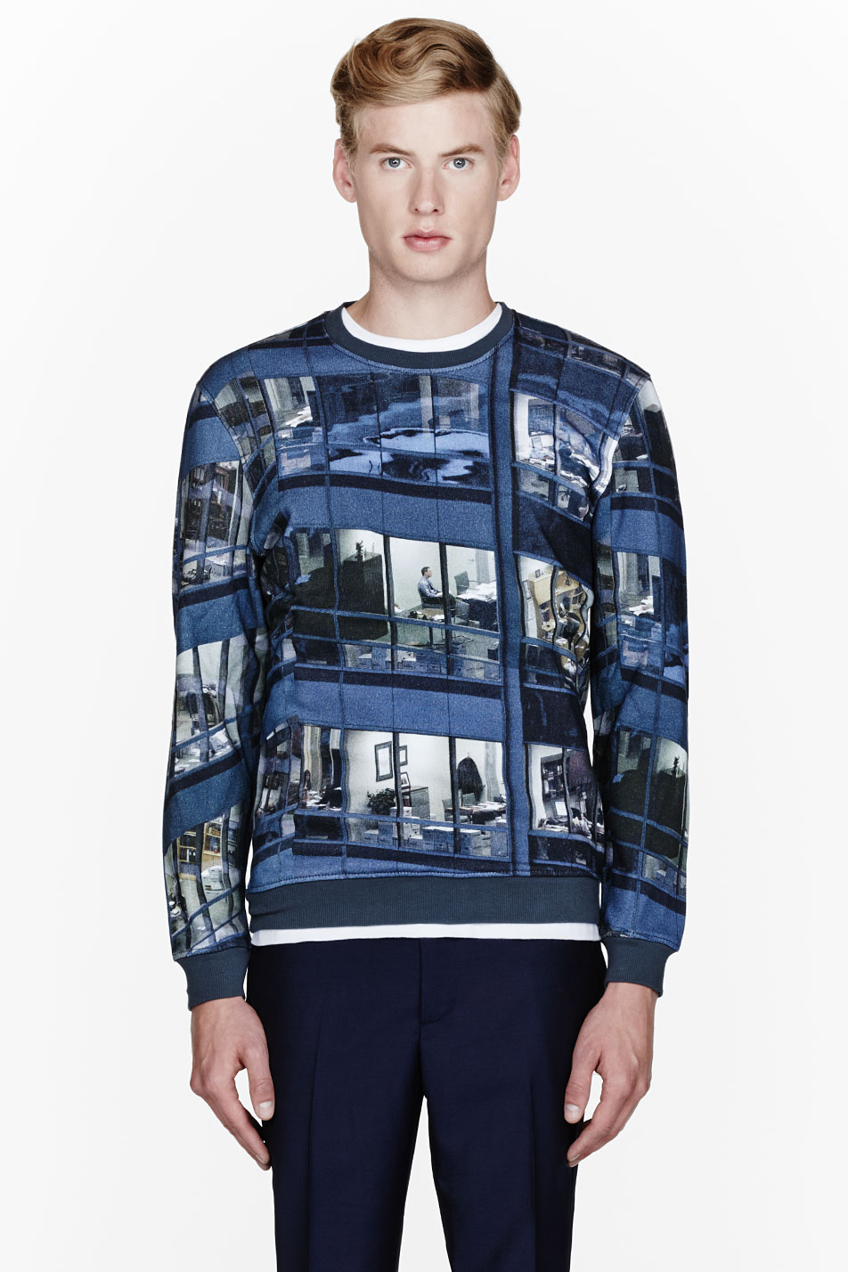Office Building Sweatshirt Carven