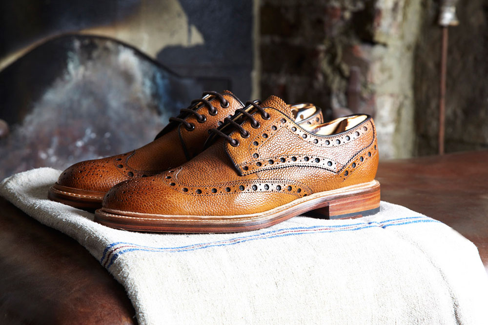 Oliver Sweeny Textured Brogue 2013 Lookbook