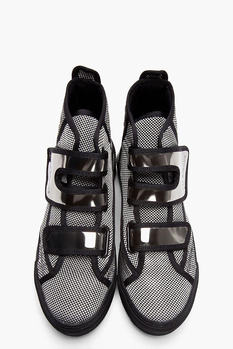 Raf Simons Strap Hi-Top sneakers 1