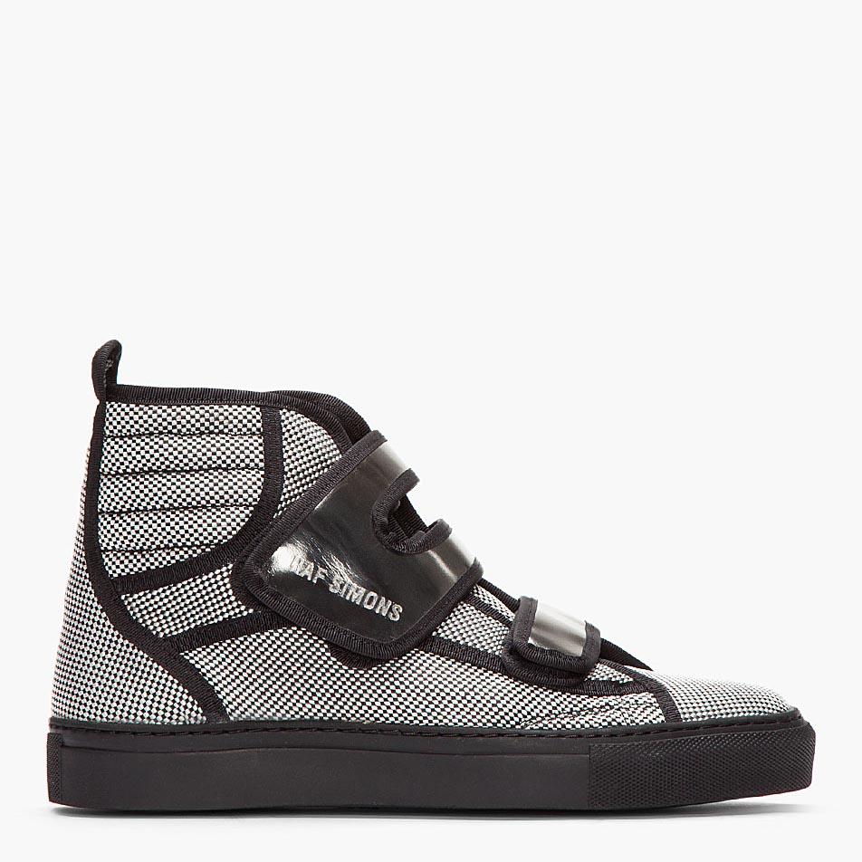 Raf Simons Strap Hi-Top sneakers 2