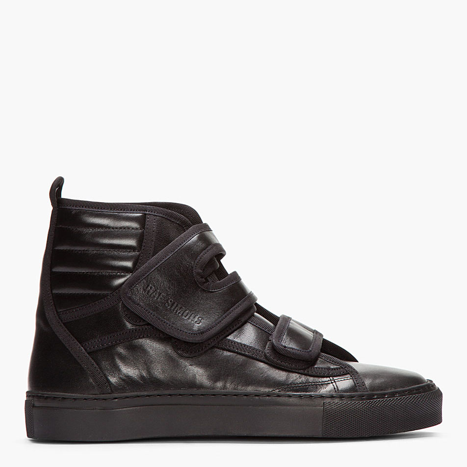Raf Simons Strap Hi-Top sneakers 3