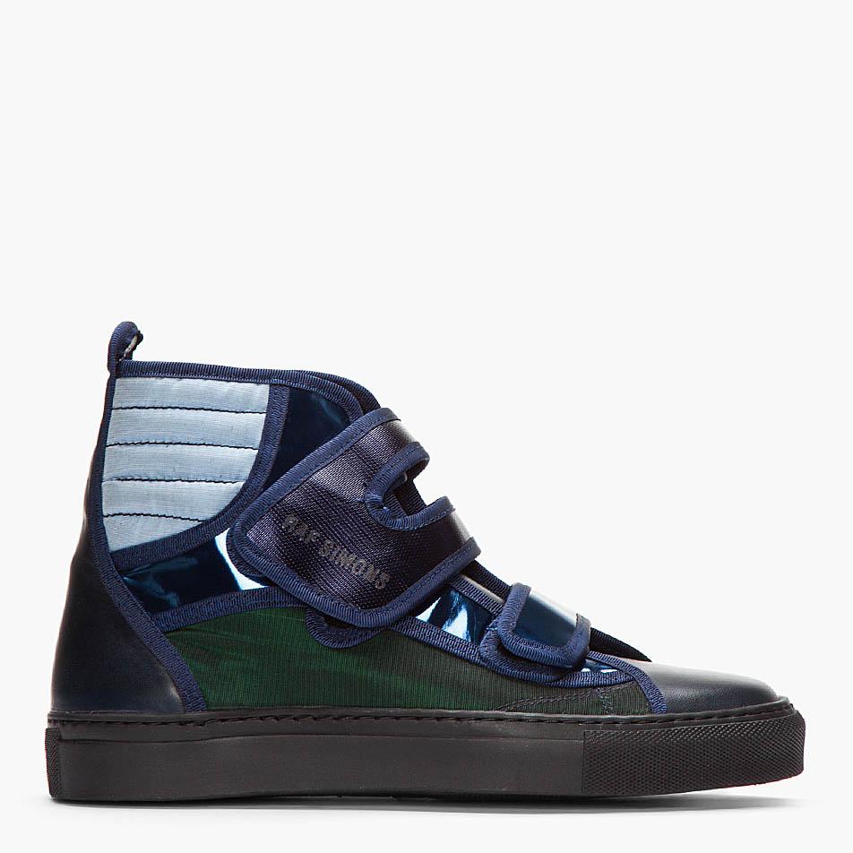 Raf Simons Strap Hi-Top sneakers 4