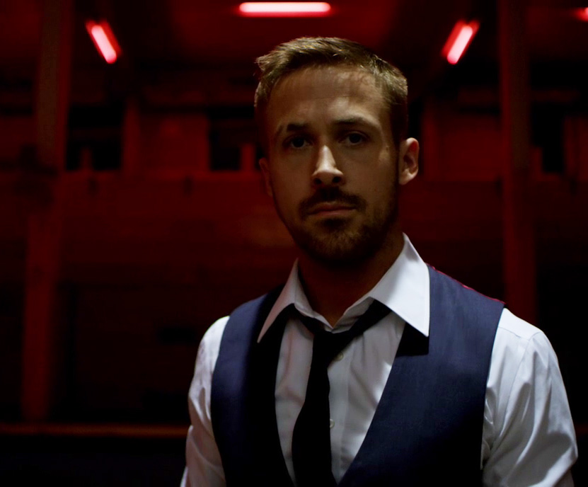 Ryan Gosling Only God Forgives Style 11 navy vest