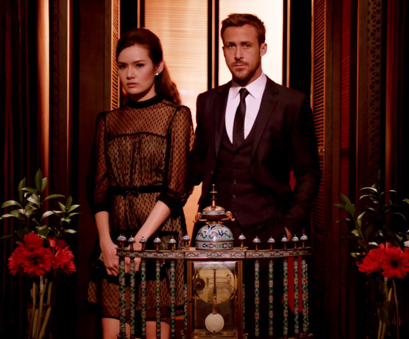 Ryan Gosling Only God Forgives Style 7 suit and tie
