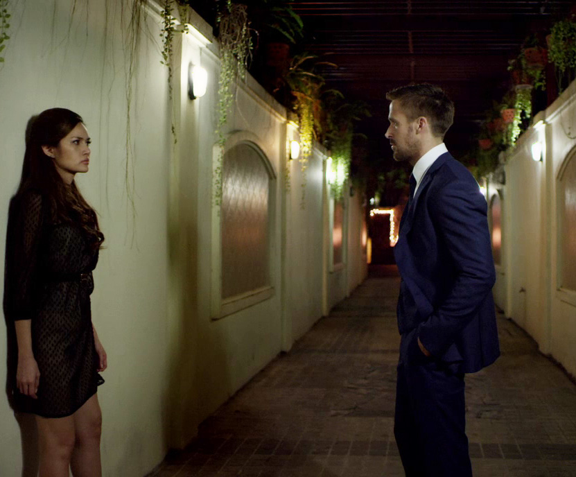Ryan Gosling Only God Forgives Style 8 db three piece suit