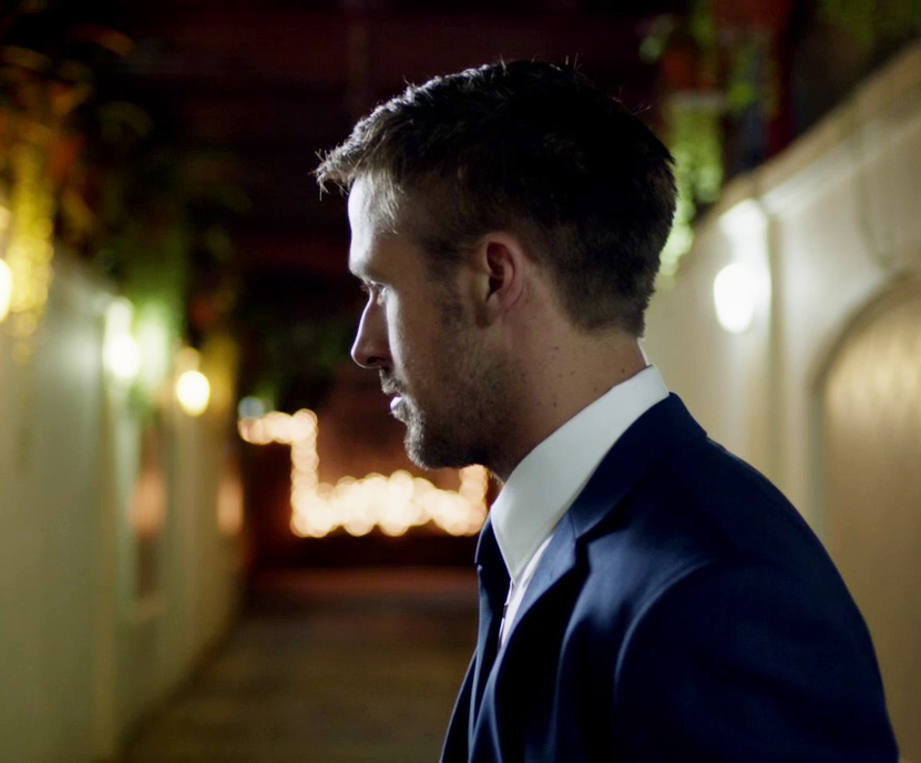 Ryan Gosling Only God Forgives Style 9 navy suit