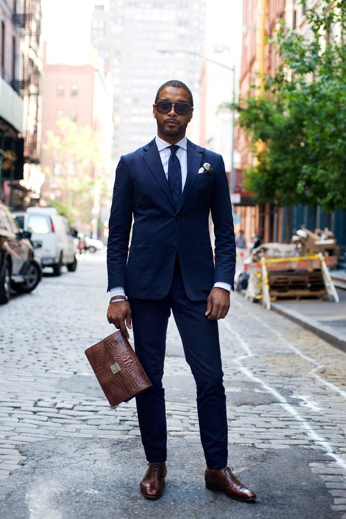 Black Man Midnight Suit | SOLETOPIA