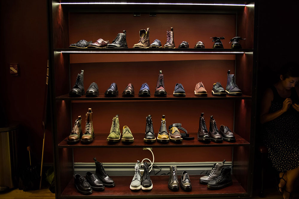 Dr. Martens Fall 2013 collection launch 02