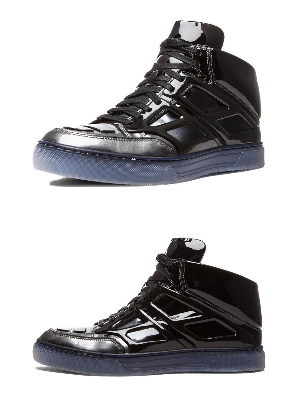 Gunmetal Tron Sneakers Mid Alejandro Ingelmo