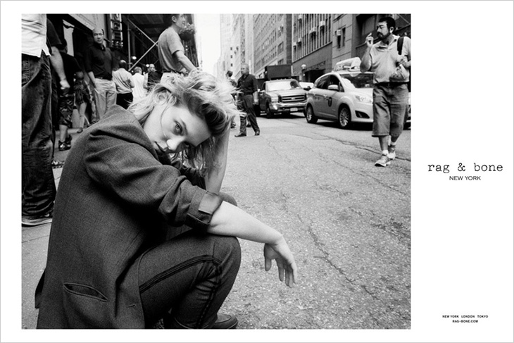 Léa Seydoux x Michael Pitt for rag & bone | SOLETOPIA
