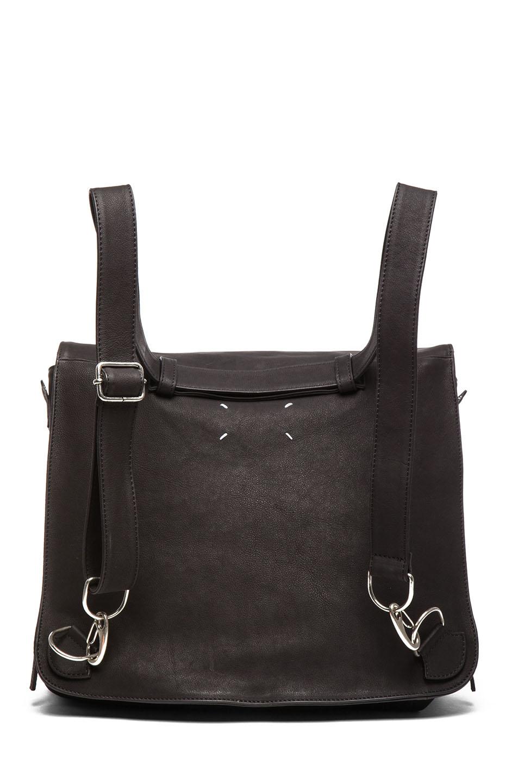 Leather Backpack Black Maison Martin Margiela 2