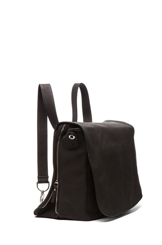 Leather Backpack Black Maison Martin Margiela 3