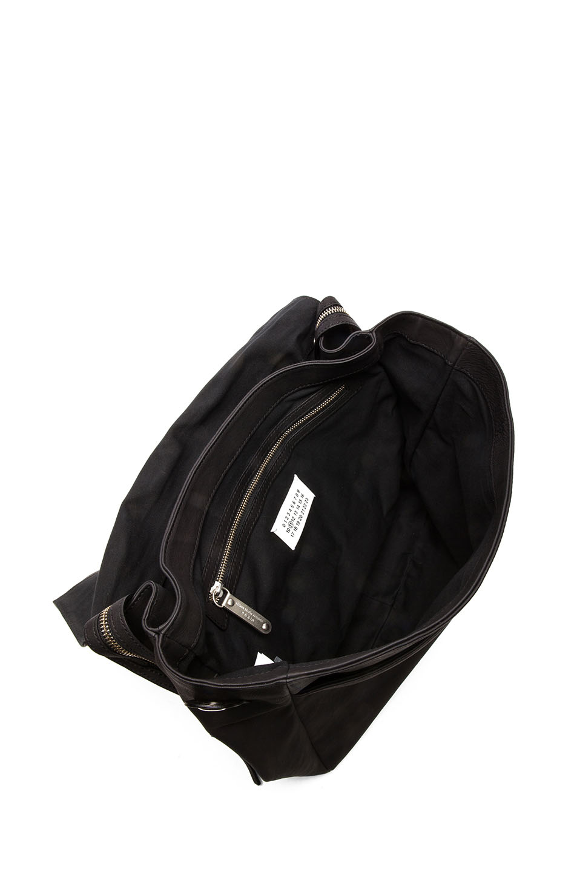 Leather Backpack Black Maison Martin Margiela 4