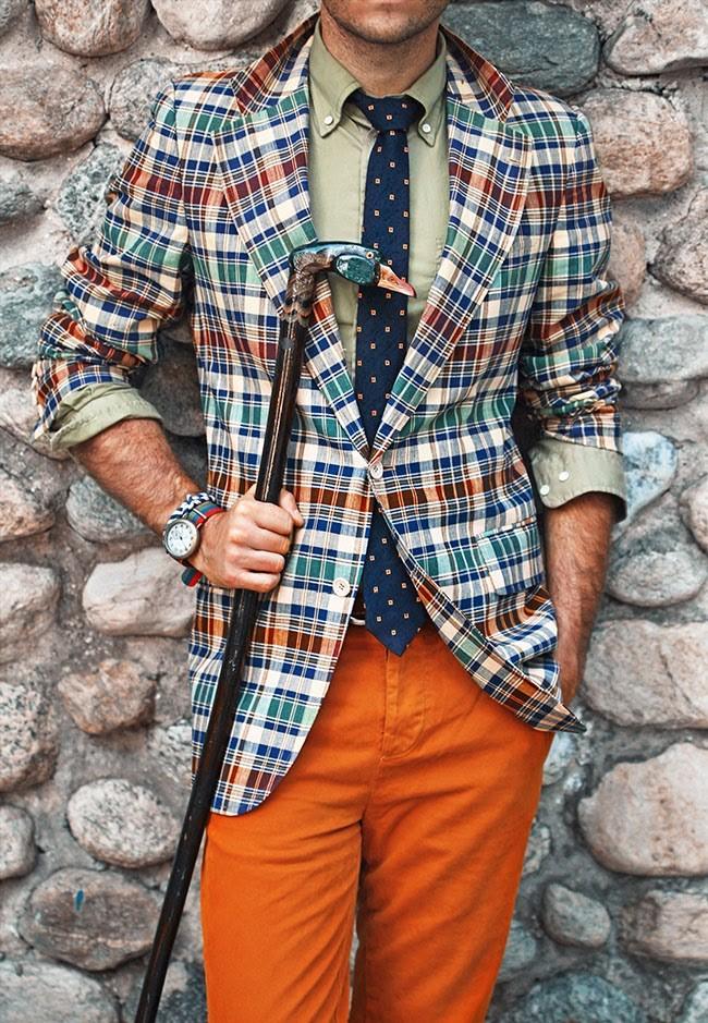 Madras Jacket x Goose Cane